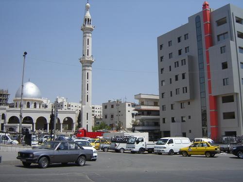 Автогарата в Дамаск