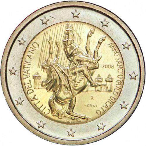 Ватиканското евро в юбилейната на св. Павел 2008 година