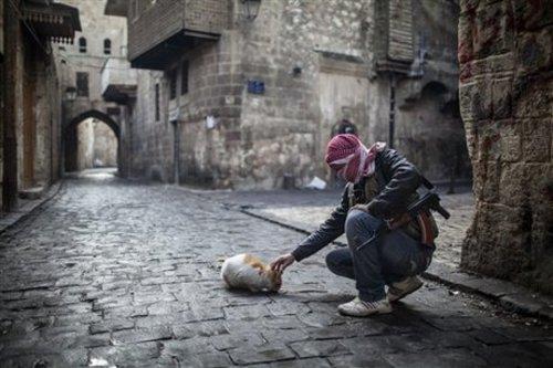 Смълчаният Дамаск през 2013 г в очакване на бомбадировкa заради химическото оръжие на Асад