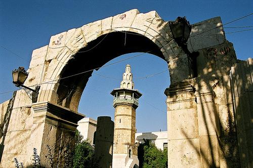 Дамаск, Римската арка
