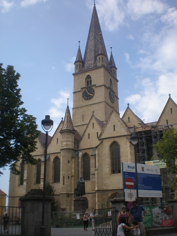 Евангелистката църква, най-известната готическа църква в града