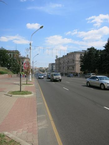 """Проспект """"Независимост"""", най-представителният градски булевард"""