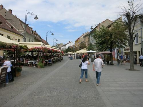 Сибиу, Пешеходната улица