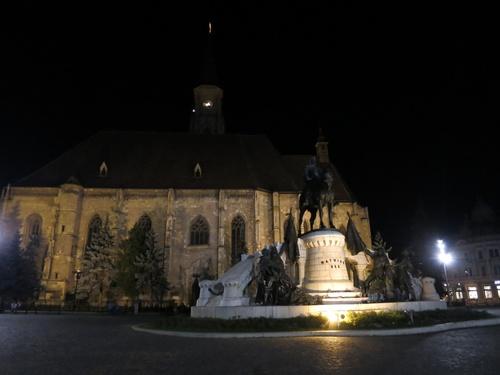 паметника на Матяш Хуняди
