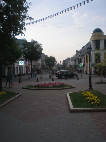 пешеходната зона