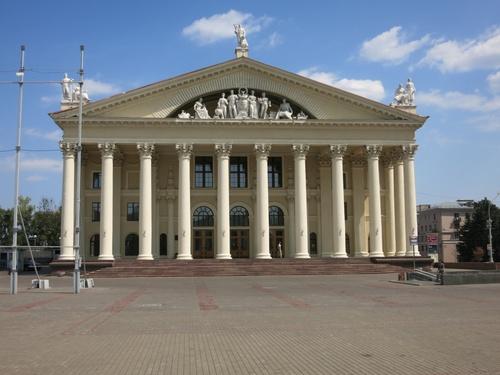 Сградата, в която се е помещавал ЦК на Беларуската комунистическа партия