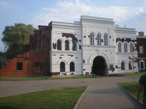 мемориалният комплекс Брестка крепост