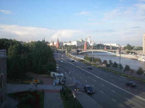 Река Москва и Кремъл