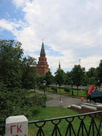 Кремъл и Александровската градина