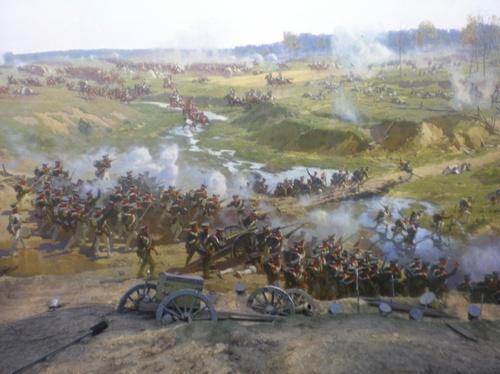 панорамата, посветена на битката при Бородино