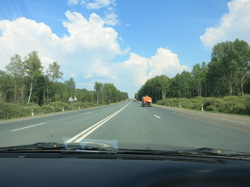 По пътя към Москва