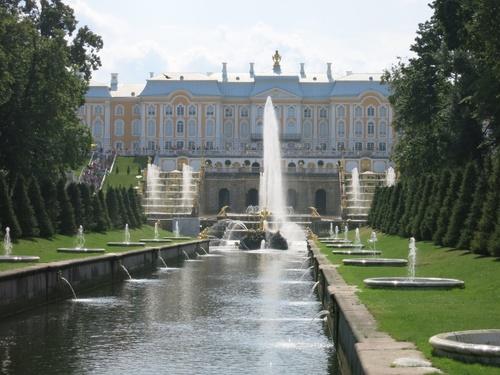"""дворец """"Петерхоф"""""""