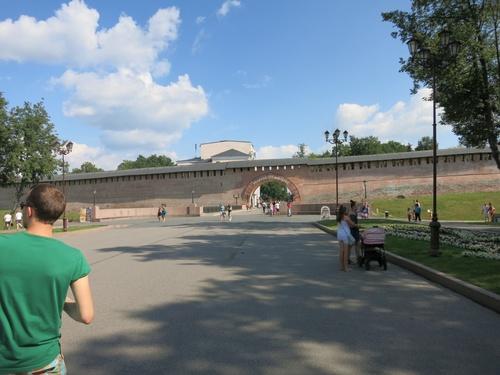 """паметникът """"Хилядолетие Русия"""""""