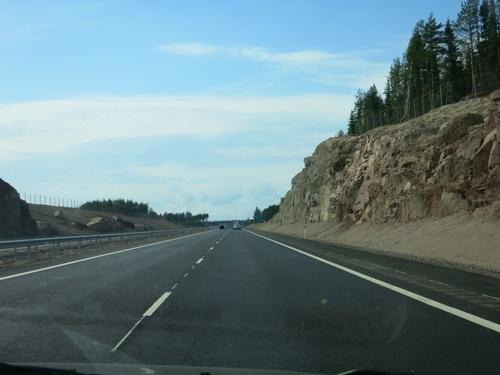 магистралата към Хелзинки