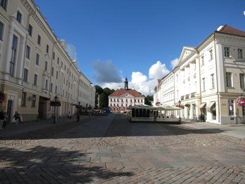 Тарту, Централният площад