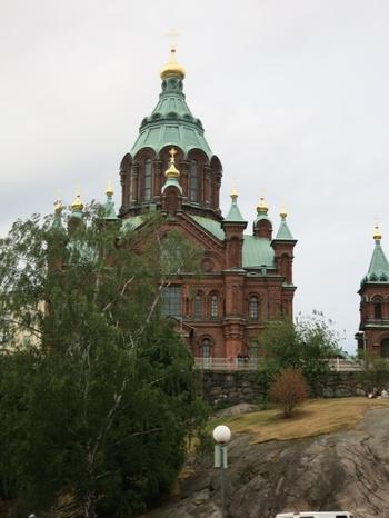 Финландия, Хелзинки, Православната катедрала в града