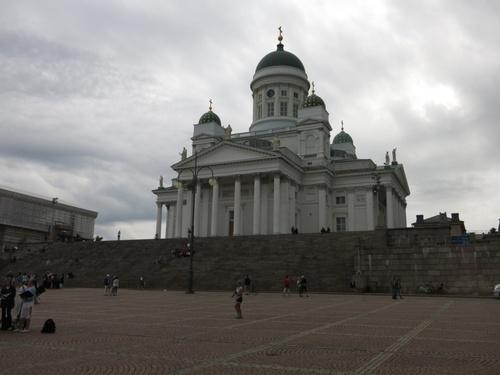 Финландия, Хелзинки, Хелзингската катедрала, най-известната сграда в града