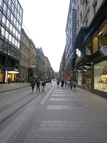 Хелзинки, Пешеходната зона
