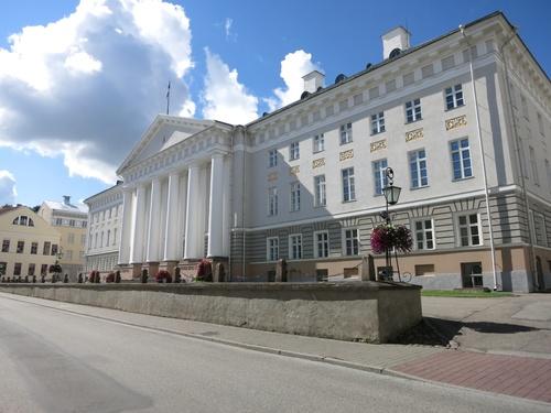 Тарту, Сградата на университета