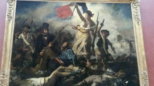 Париж, Лувър, Свободата води народа