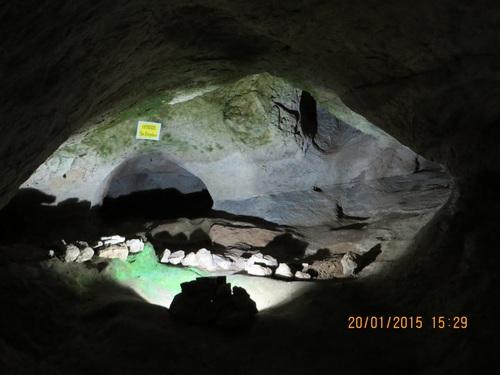 пещерата Бачо Киро, Огнището