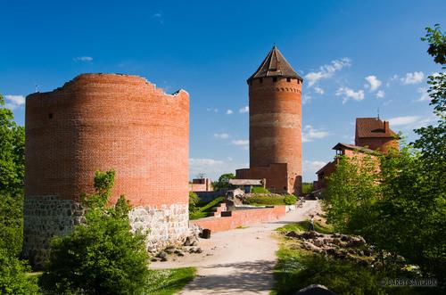 замъка Турайда