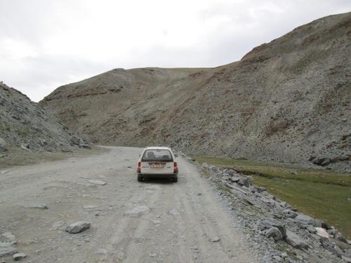 По главния международен път от Алтай в Русия към монголската столица Улан Батор