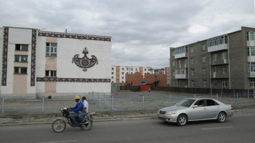 Един от жилищните квартали на Олгий