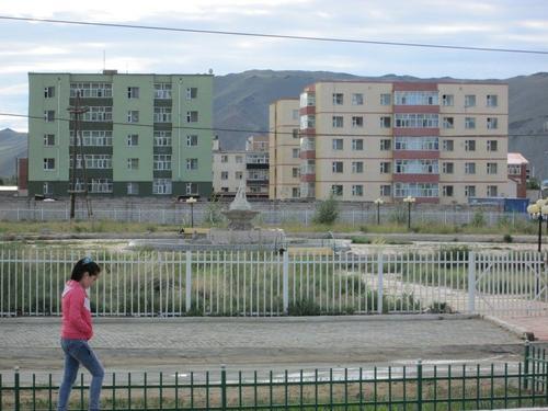 Квартал със жилищни блокове
