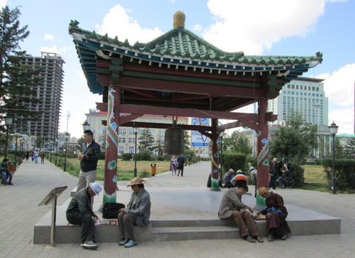 Монголци играят шах