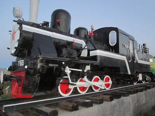 Експонат в Музея на железопътния транспорт
