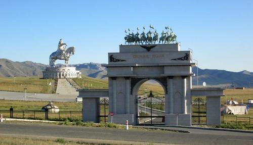 Мемориалният комплекс, посветен на Чингис хан