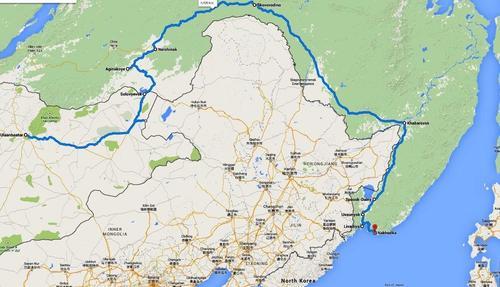 Маршрутът ми от Монголия през Хабаровск до Японско море