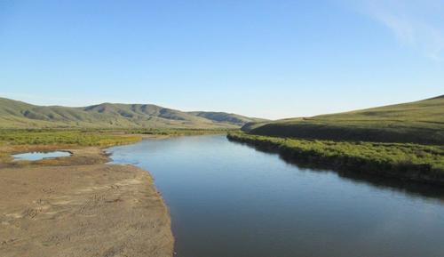 Свещената за местното население река Онон