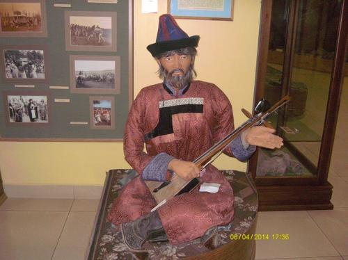 В краеведческия музей на Агинское