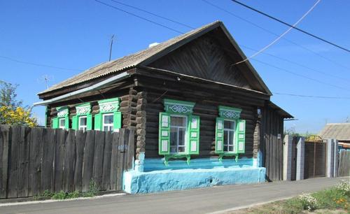 Типична старинна къща в Нерчинск