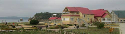 "Курортното селище ""Песочница"", близо до град Фокино"