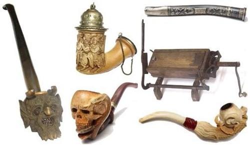 Експонати в музея на тютюна