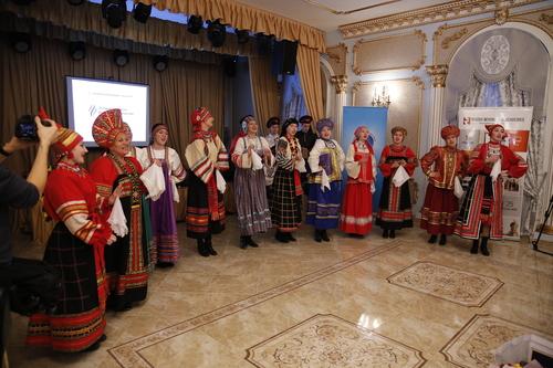 в Москва, концерт в Георгиевската зала на Екатерининския дворец
