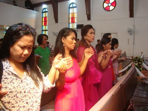 молитва за щастието на младоженците