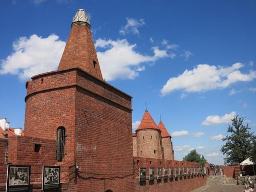 Варшава, Старите крепостни стени