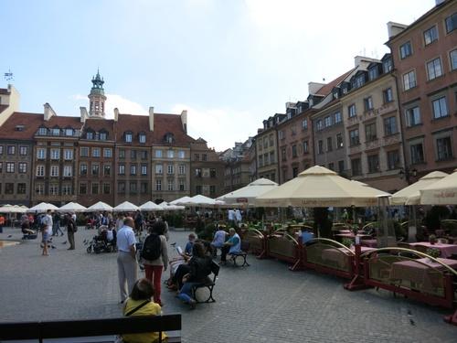 Варшава, Стар град, пазарен площад