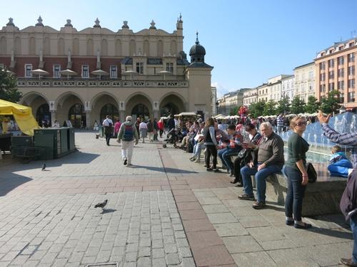 Краков, Закритият пазар на главния площад