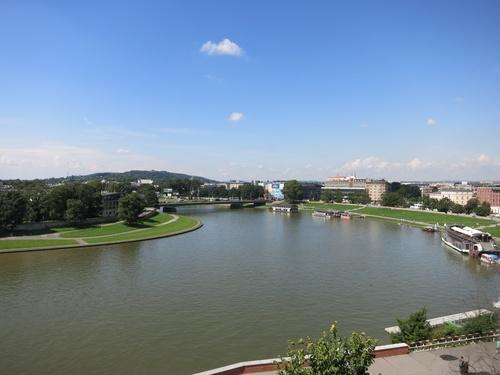 Краков, Поглед към река Висла