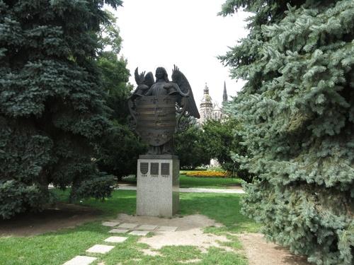 Гербът на града. Кошице е първият град с герб в Европа