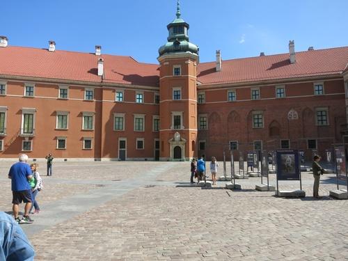 Варшава, Кралският дворец