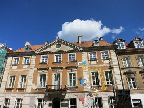 Варшава, Родната къща на Мария Кюри