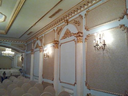 Позлатената зала на Екатерининския дворец