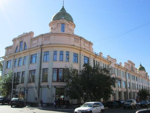 В това здание се е намирало правителството на Далекоизточната република 1920г.÷1922г.