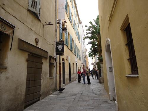 Уличката с родната къща на Наполеон